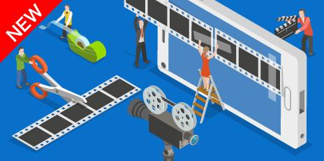アニメーション、実写、CGなど、動画制作〜運用までワンストップで提供!